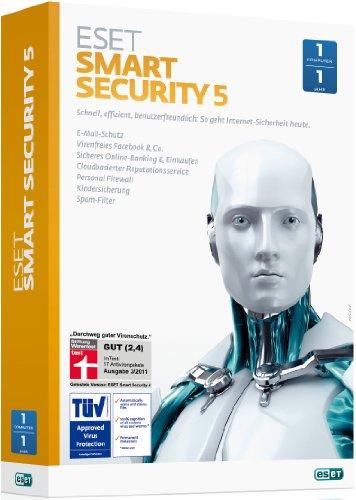 ESET Smart Security 5 - 1 PC / 1 Jahr