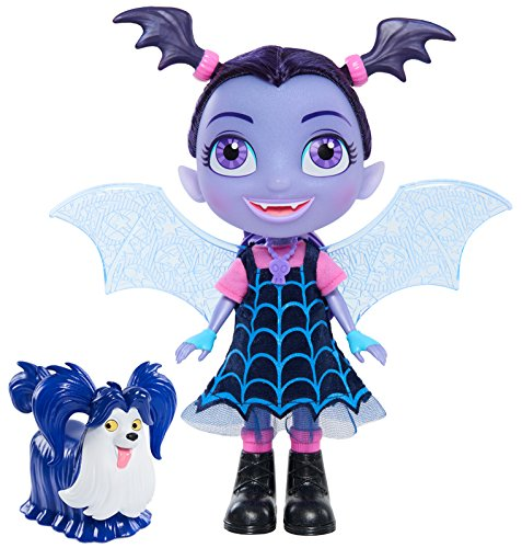 Vampirina Bat-Tastic Talking Vampirina & Wolfie, Multi-Color, 12 inches