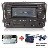 Autoradio Stereo RCN210 +Kabel Bluetooth CD USB AUX SD für VW Golf Passat TOURAN Jetta Polo TIGUAN Caddy EOS CC