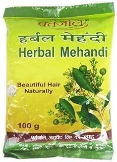 Baba Ramdev - Patanjali Herbal Mehandi for Hair - 100g by Patanjali