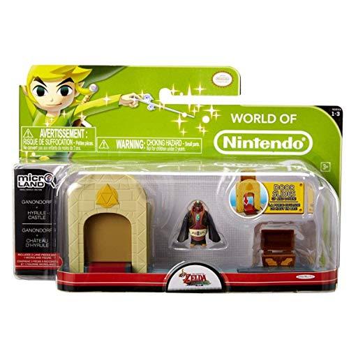 Jakks Pacific - Figurine Zelda - World of Nintendo - Ganondorf + Hyrule Castle - 0039897869018