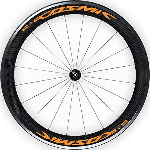 Pegatinas Llantas Bicicleta 29' Mavic Cosmic SL WH17 VINILOS Ruedas Naranja Fluor