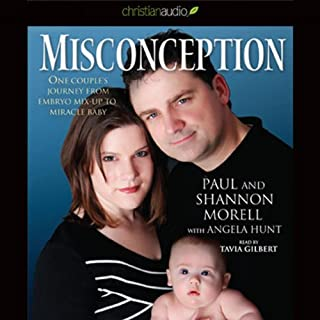 Misconception audiobook cover art
