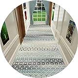 HAIPENG Largo Alfombra Pasillo Runner con Antideslizante Atrás, Suave Puerta Principal Estera Ideal por Entrada Salón Escalera Cocina (Color : A, Size : 90x250cm)