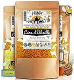 Nabür - Cire d'abeille 200 GR Pastilles | 100% Pure Cire D'Abeille | Cosmétiques Maison avec Perfection, DIY, Fabrication de Bougies | Conditionnée en région PACA