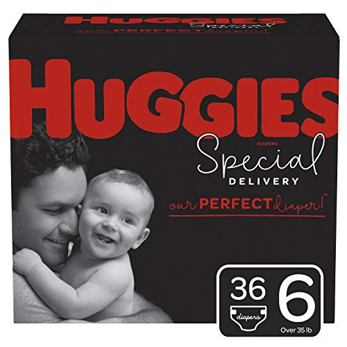 Huggies Special Delivery Hypoallergenic Diapers, Size 6, 36 Ct