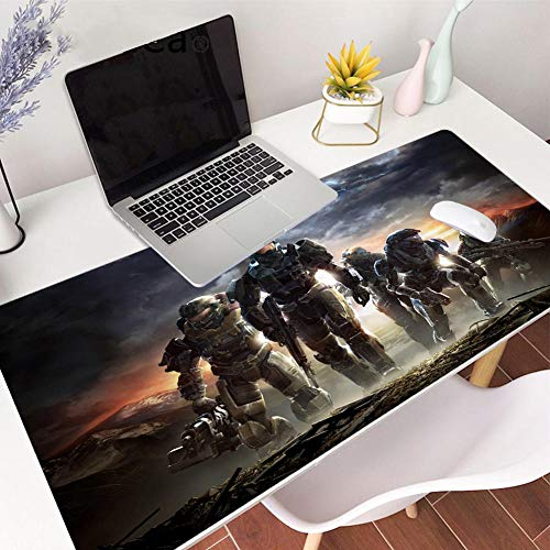 Mouse Pads Large Gaming Halo Mouse Pad Desk Mat Protector 35.4x15.7in Non Slip Extended Smooth Mouse Mat-39.419.70.1in
