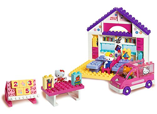 BIG - 57 026 - Play BIG Bloxx Hello Kitty école