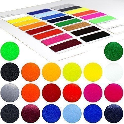 23,92€/m² POLI TAPE FlockFolie 001 Weiß 0,5m x 1m Tubitherm PLT Poli Flock Folie für T Shirt und Bekleidung