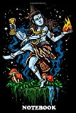 Notebook: Lord Shiva Nataraja Hindu Poster For Hinduism Lov , Journal for Writing, College Ruled Size 6