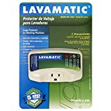 Lavamatic WS-10521 Electronic Surge Protector for Washing Machine – Front Top Load Washers