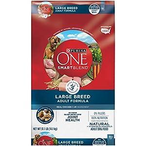 Purina ONE Natural Large Breed Adult Dry Dog Food, SmartBlend Formula – 31.1 lb. Bag