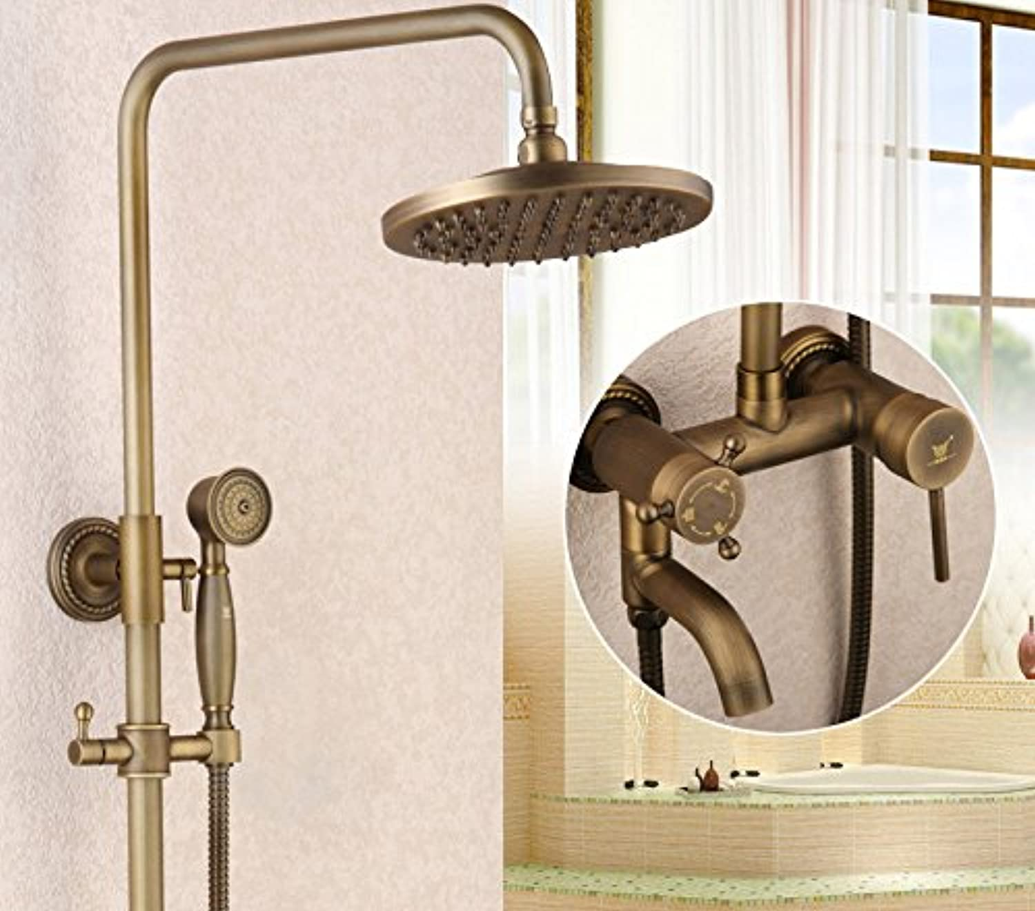 Will Make You Satisfied,JONTON Cold High Faucet Antique ...