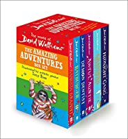 The World of David Walliams: The Amazing Adventures Box Set: Gangsta Granny; Ratburger; Demon Dentist; Awful Auntie; Grandpa's Great Escape; the Midnight Gang