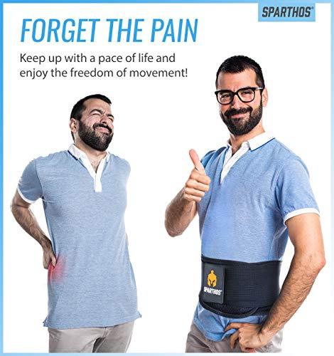 Sparthos Back Brace With Lumbar Pad