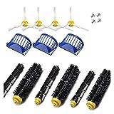 XIAOFANG Reemplazo de vacío Accesorios Kit de Ajuste for el iRobot Roomba Limpiador de 600 Serie 690 680 660 651 650 y 500 Series (Color : Chocolate)