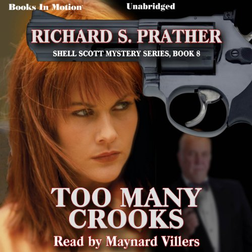 Too Many Crooks audiobook cover art