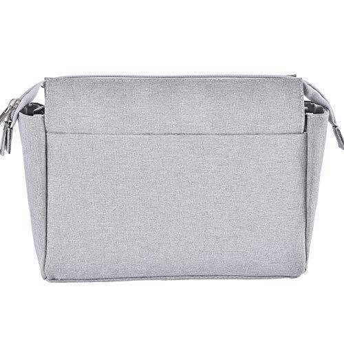 HyFanStr Handtaschen Organizer, Nylon Taschenorganizer mit Reißverschlusstasche, Innentaschen für Handtaschen