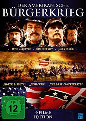 Der amerikanische Bürgerkrieg - 3 Filme Edition