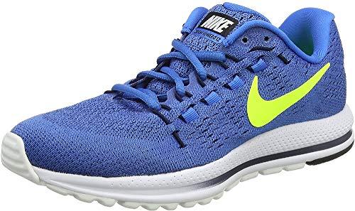 Nike Men's Air Zoom Vomero 12 Running Shoes, Blue (Star Blue/Italy Blue/Obsidian/Volt), 6 UK 39 EU