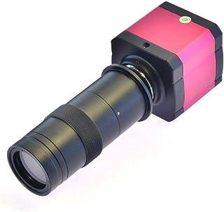 14MP TV HDMI USB Industry Digital C-mount Microscope Camera TF Card Slot & 100x C-mount Lens