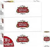 Stella Artois Premium Lager Beer Can, 3 x 10 x