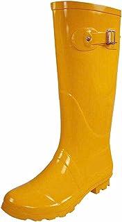 NORTY Women's Hurricane Wellie - 14 Solids and Prints - Glossy & Matte Waterproof Hi-Calf Rainboots