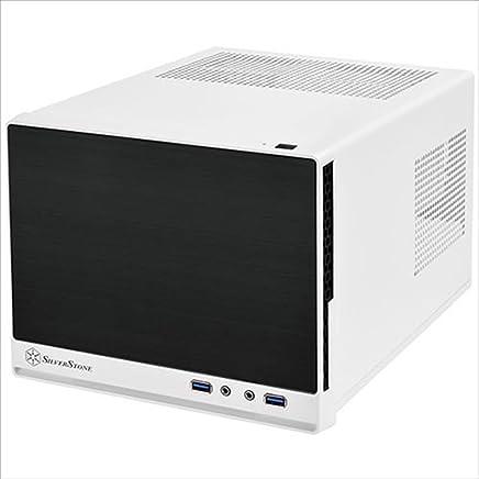 SilverStone Sugo CASE Mini-ITX 白黒 静音 SST-SG13WB-Q