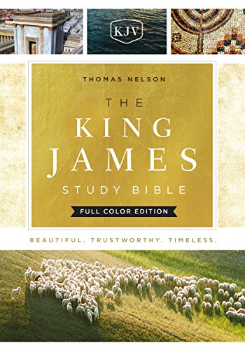 KJV, The King James Study Bible, Full-Color Edition: Holy Bible, King James Version