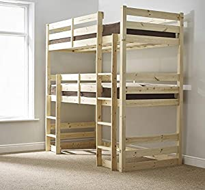 Strictly Beds and Bunks - Raised Double Sleeper, 3ft Single