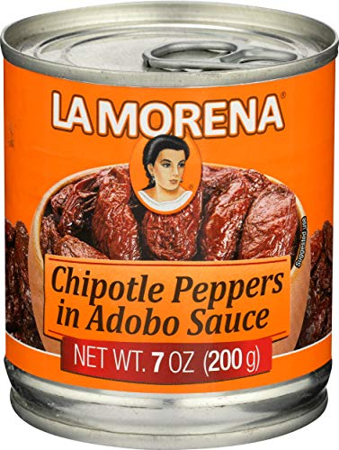 La Morena chile Chipotle en Salsa de Adobo 200g