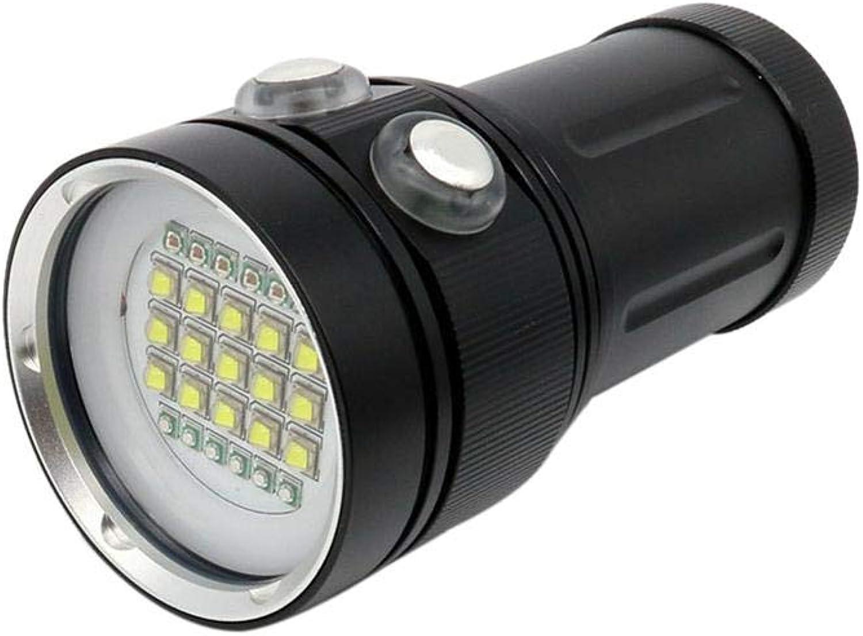 Mysticall 9000LM Wasserdichte Hochleistungs-Tauchlampe Unterwasser 100M