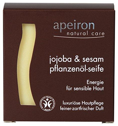 Apeiron - Auromere Jojoba Sesam - Pflanzenöl Seife