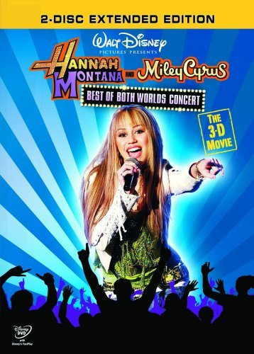 Hannah Montana And Miley Cyrus - Best Of Both Worlds 3-D Concert [Reino Unido] [DVD]
