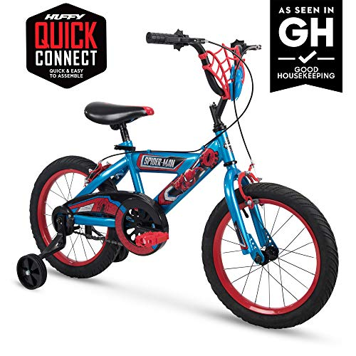 Huffy Bicycle Company 12' Marvel Spider-Man Boys Bike, Web Plaque - 72168 - 72168