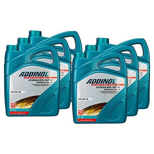 6X Addinol Hydrauliköl Hydraulic Oil Fluid Hlp 46 4L 73200425