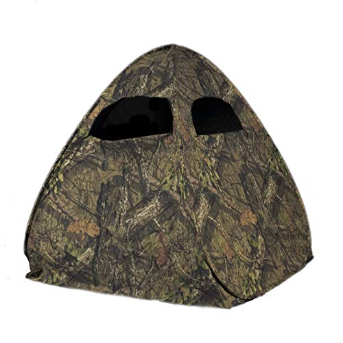Rhino Blinds R50-MOC 1 Person Hunting Ground Blind, Mossy Oak Breakup Country
