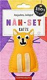 Näh-Set: Filzanhänger Katze (100% selbst gemacht)