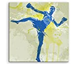 Kickboxen I 60x60cm SPORTBILDER Paul Sinus Art Splash Art