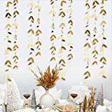 52Ft Gold Summer Party Decorations Leaf...