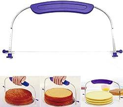 Outgeek Cake Cutter Stainless Steel Adjustable DIY Cake Leveler for Kitchen