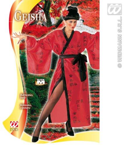 Generique - Déguisement Geisha Rouge et Noir Femme