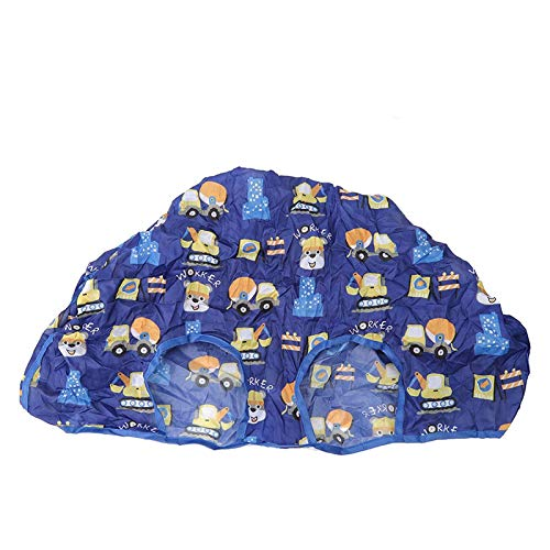 SALUTUYA Funda para Silla de bebé Easy Clean Azul Rosa para recién Nacido(Blue Series)