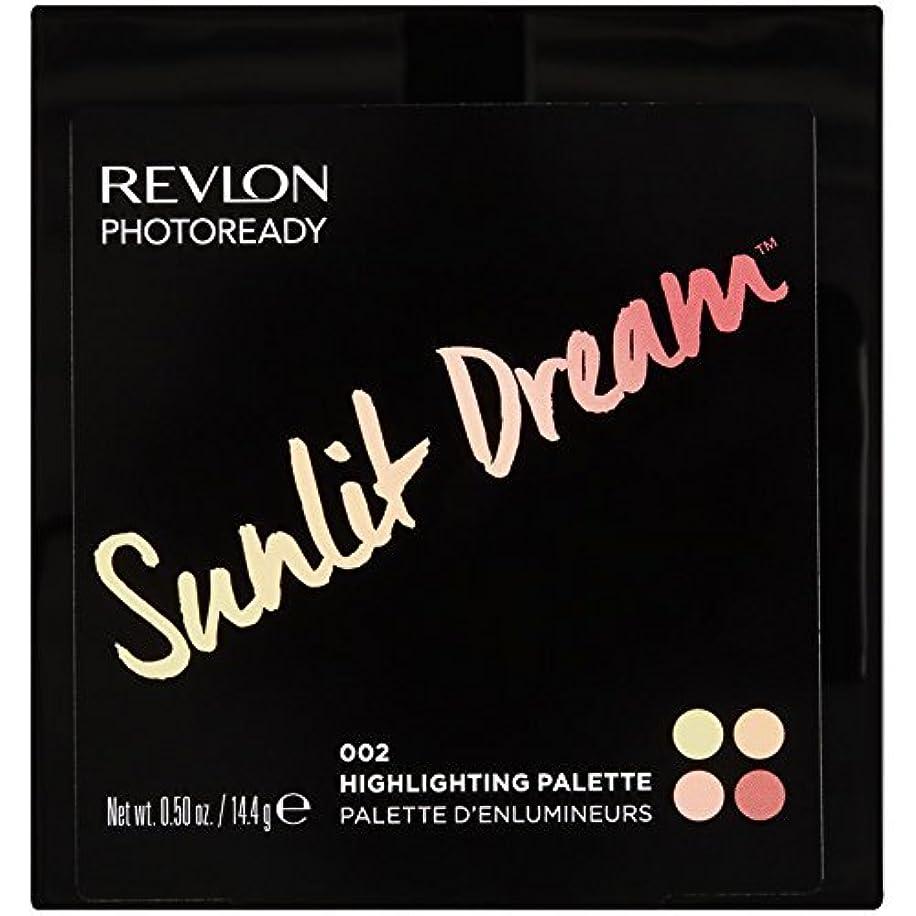 郊外興奮する吸収Revlon Photoready Sunlit Dream Highlighting Palette [並行輸入品]
