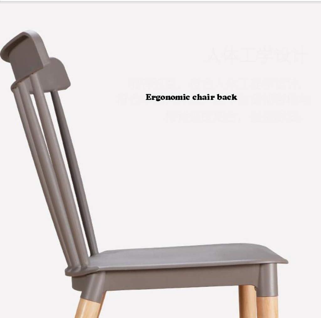 Simple Chaise Bureau étudiant et Chaise de Maquillage Tabouret Retour à la Maison à Manger Chaise d'ordinateur Unique (Color : Yellow) Yellow
