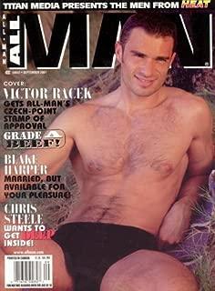 AllMan Magazine - September 2001 (Victor Racek, Blake Harper, Spike, Chris Steele)