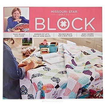 Quilting Idea Book Block Magazine Winter 2016 Vol 3 Issue 1 by Jenny Doan  Missouri Star Quilt Company  Natalie Earnheart  2016-08-02