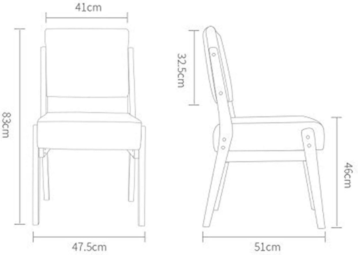 Wuzhengzhijie Réception en Bois Massif Dossier Haut Tabouret de Bar Accueil Durable Bar Durable humidité Tabouret Chaise de réception 83x47.5cm (Color : B) B