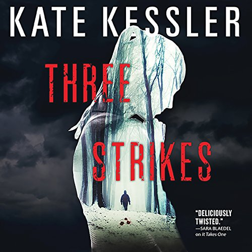 Three Strikes audiobook cover art