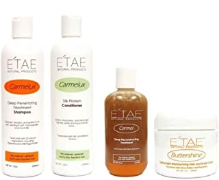 E'tae Natural Product Kit: Shampoo+Conditioner+Treatment+Butter Shine